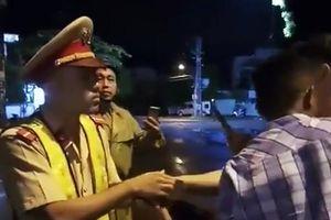 Chiến sĩ CSGT bị ngã khi xử lý hiện trường tai nạn ở Bình Định lên tiếng