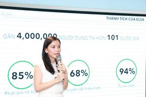 ELSA Speak lọt vào top 5 các ứng dụng A.I hàng đầu thế giới