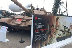 Xe tăng 'Chiến lang - Ngô Kinh bản' xuất hiện tại Zhuhai Airshow 2018 có gì đặc biệt?