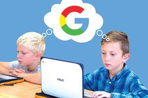 Google chiếm lĩnh thị trường giáo dục