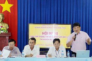 Bình Phước thông tin về ổ dịch bệnh sán dây ở huyện Bù Gia Mập