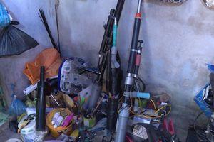 Bắt 2 nghi can trộm cắp, chế tạo súng