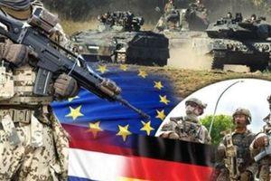 Quân đội châu Âu tự bảo vệ mình trước Trung-Nga-Mỹ
