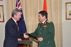 Việt Nam–Úc ký Tuyên bố Tầm nhìn chung về quốc phòng