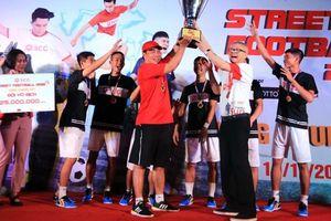 Kim Thành Phát FC vô địch bóng đá đường phố - SCG Street Football