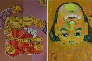 Triển lãm 'Nghệ thuật đảo ngược– Upsidedownism' của Họa sĩ Nguyễn Đại Giang: Sự kế thừa bản sắc văn hóa Việt
