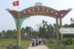 Thống nhất giảm 478 thôn, khối phố tại Quảng Nam