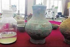 Phát hiện rượu cổ ở Trung Quốc