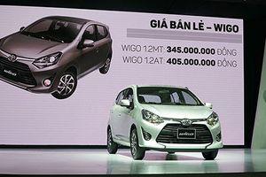 Mới mở bán, Toyota Wigo 'vượt mặt' Hyundai Grand i10