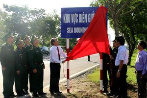 Phú Yên: Đã hoàn thành cắm 24 biển báo 'Khu vực biên giới biển'