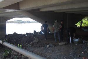 Thi thể nam thanh niên đang trong giai đoạn phân hủy nổi trên sông Đồng Nai