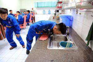 Diễn tập ngộ độc thực phẩm tập thể tại NMLD Dung Quất