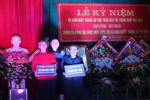 TANDTC và Báo Công lý trao tặng kinh phí xây dựng nhà tình nghĩa tại Hà Tĩnh
