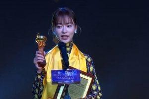 Cẩn Ngôn đoạt 'Nữ diễn viên truyền hình xuất sắc' nhờ vai 'Diên hi công lược'