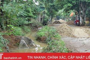 Nhiều địa phương 'phá sản' kế hoạch làm rãnh thoát nước