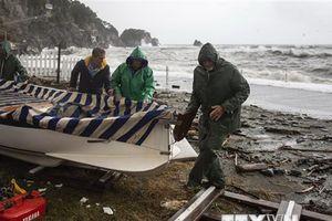 Italy ban bố tình trạng khẩn cấp tại các vùng ảnh hưởng thiên tai