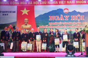 Ngày hội Đại đoàn kết toàn dân tộc tại xã đồng bào Dao của Hà Nội