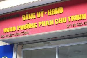 Quận Hoàn Kiếm phải kiểm điểm trách nhiệm lãnh đạo phường Phan Chu Trinh