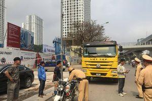 1.820 xe vi phạm tải trọng bị xử lý