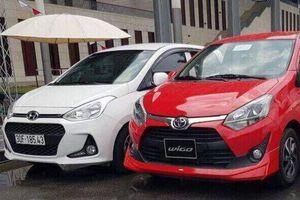 Toyota Wigo trở thành đối thủ thực sự của Hyundai Grand i10