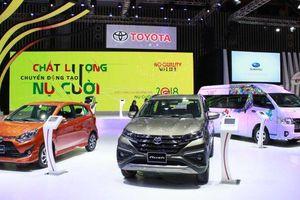 Thêm nhiều xe mới, Toyota Việt Nam tăng trưởng gần gấp đôi
