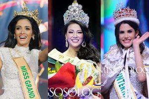 'Đọ sắc' Miss Earth 2018 Nguyễn Phương Khánh với Tân Hoa hậu Miss Grand International và Miss International 2018