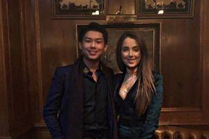 Khoảnh khắc ngọt ngào của thiếu gia út nhà chồng Hà Tăng bên bạn gái nước ngoài xinh đẹp khiến nhiều người ghen tỵ