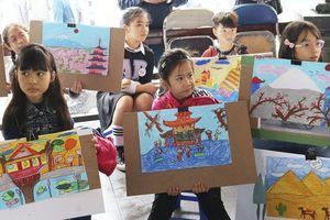 Hơn 100 em nhỏ 'Khám phá thế giới' qua cuộc thi vẽ tranh