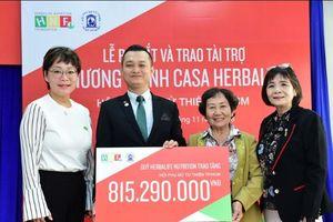 Quỹ Herbalife Nutrition trao 815 triệu đồng hỗ trợ dinh dưỡng cho trẻ em mái ấm