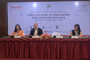 450 doanh nghiệp sẽ tham gia Triển lãm Quốc tế Công nghiệp thực phẩm Việt Nam