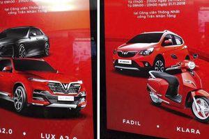 Xe cỡ nhỏ của VinFast lộ diện với tên gọi Fadil kèm theo lịch ra mắt