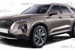 ''Anh cả'' nhà Hyundai: Palisade sẽ trình làng tại Triển lãm Los Angeles