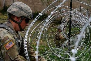 Khiếp hãi hàng rào thép gai chống người nhập cư trái phép ở Mỹ