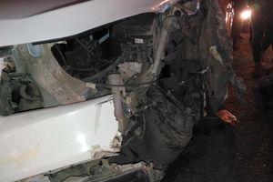 Cầu Rạch Miễu tê liệt 2 tiếng vì hai ô tô va chạm
