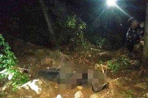 Phát hiện thi thể người đàn ông mất đầu, không mặc áo trên đồi