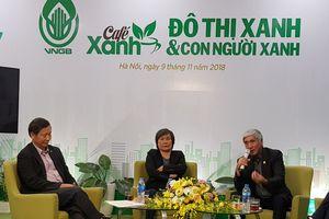Tọa đàm Cafe Xanh với chủ đề phát triển Đô thị xanh tại Việt Nam