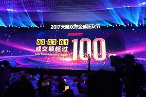 Alibaba kiếm 1 tỷ USD chỉ trong 85 giây đầu tiên lễ Độc thân