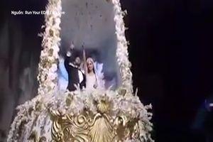 Đám cưới 'máu lửa' phong cách lễ hội âm nhạc EDM