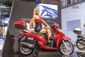 Honda SH 300i 2019 ra mắt, bổ sung công nghệ mới