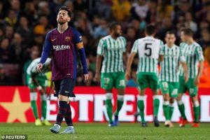 Messi lập cú đúp, Barca thua Real Betis 3-4 ngay tại Camp Nou