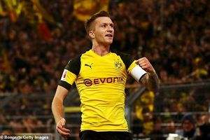 Marco Reus lập cú đúp, Dortmund thắng nghẹt thở Bayern Munich
