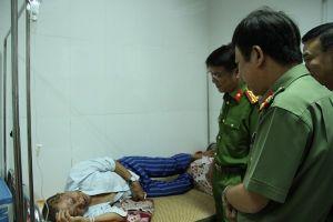 Công an Hưng Yên thăm người bị nạn trong vụ nữ giáo viên về hưu bị sát hại