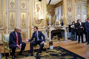 Tổng thống Pháp tiếp lãnh đạo Mỹ, Nga, Đức vào 'giờ đẹp' 11h ngày 11 tháng 11