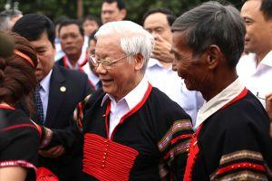 Tổng Bí thư, Chủ tịch Nước dự Ngày hội Đại đoàn kết cùng đồng bào Đắk Lắk