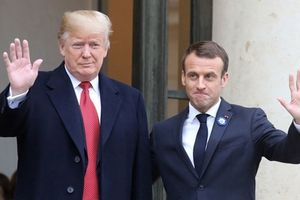 Sau khi 'mắng phủ đầu', Tổng thống Trump 'làm hòa' với ông Macron