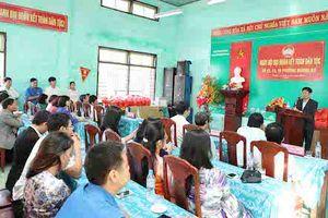 Bộ trưởng Nguyễn Ngọc Thiện dự Ngày hội Đại đoàn kết ở Huế