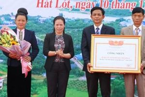 Sơn La công bố xã thứ 17 đạt chuẩn nông thôn mới