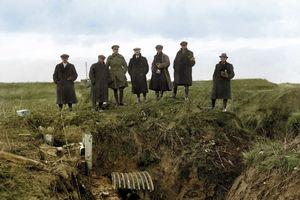 Những khoảnh khắc vừa được tiết lộ về Thế chiến thứ nhất