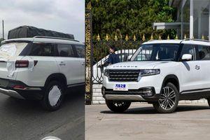 Xe Trung Quốc 'nhái' Range Rover chạy thử tại Hà Nội