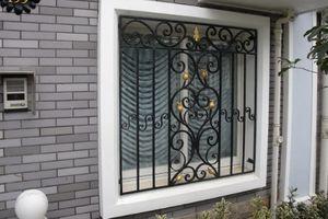 Nhà đẹp phá cách với những mẫu song cửa sổ lạ mắt